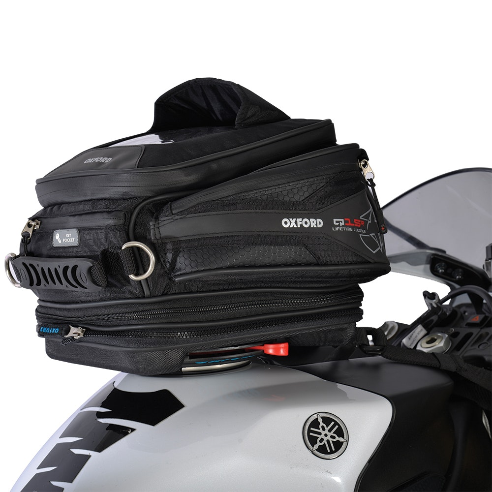 Oxford X15 QR tank bag - red only sweepstakes