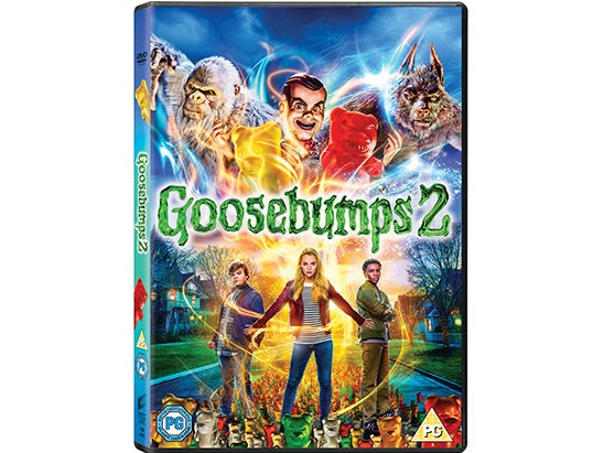 Goosebumps 2 DVD sweepstakes