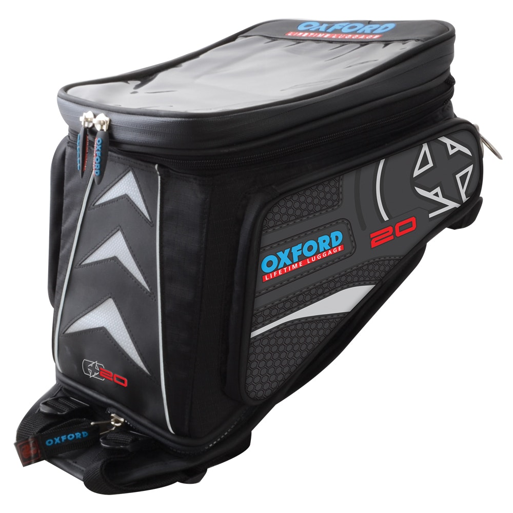 Oxford X20 Quick Release Adventure Tank Bag - Black sweepstakes