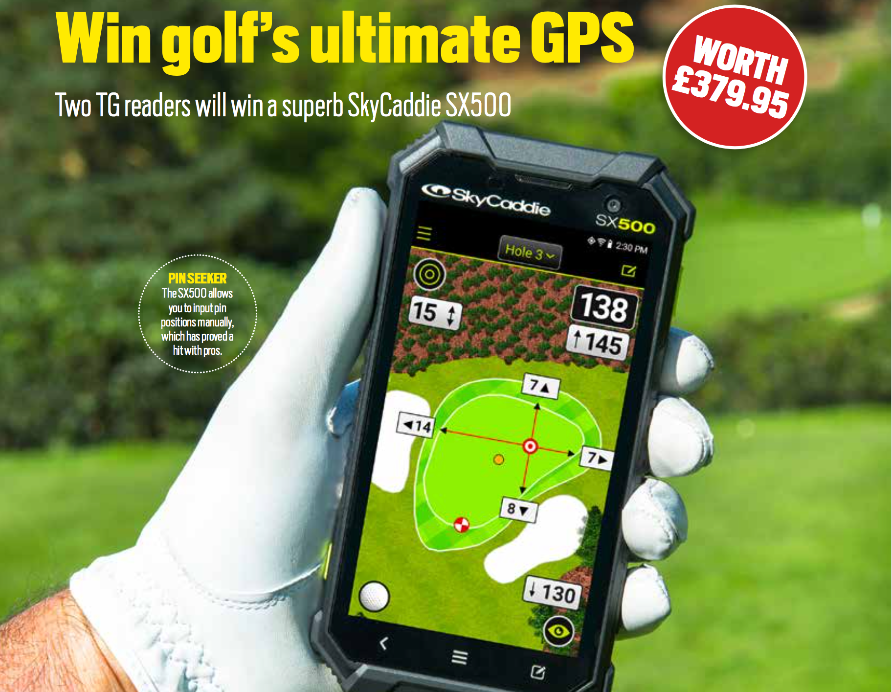 WIN golf's ultimate GPS  sweepstakes