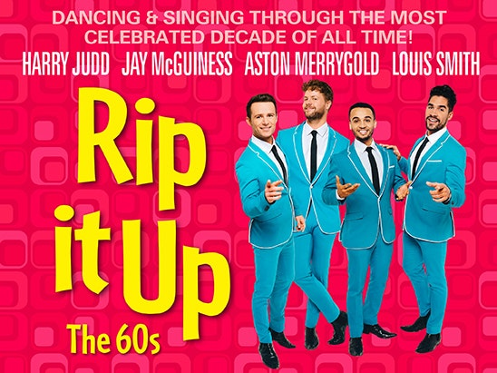 tickets to see Rip It Up The 60s at the Garrick Theatre in the West End sweepstakes
