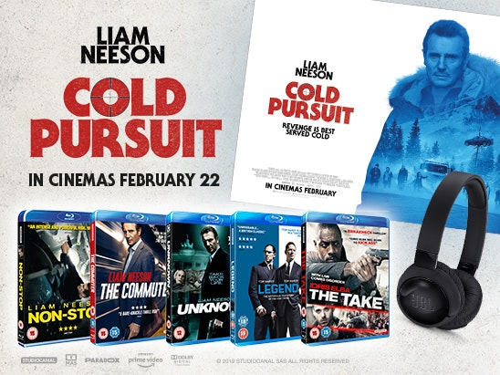 Cold Pursuit prize bundle sweepstakes