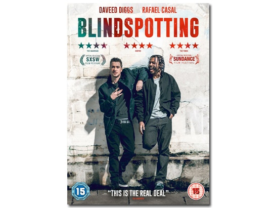 BLINDSPOTTING on DVD sweepstakes