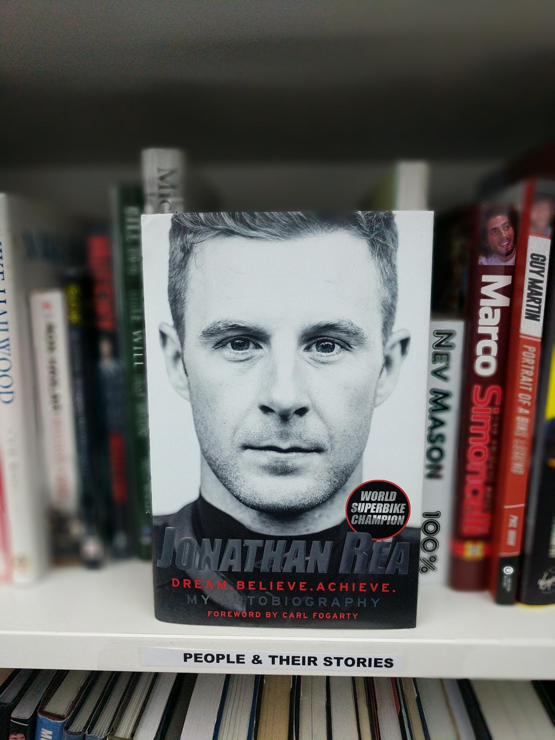 WSB Champ Jonathan Rea's Autobiography in hardback sweepstakes