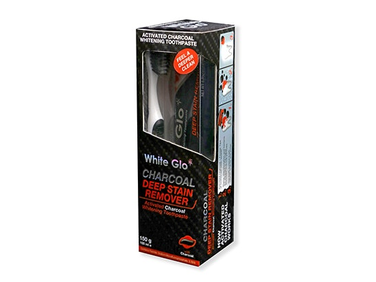 White Glo's Charcoal Deep Stain Remover Toothpaste sweepstakes