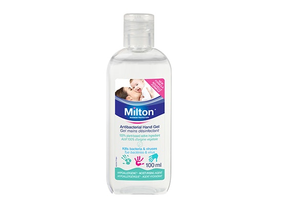 Milton plant-based Antibacterial Hand Gel sweepstakes