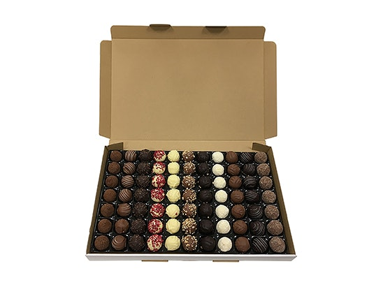 exquisite box of truffles from Fine Food Specialist sweepstakes
