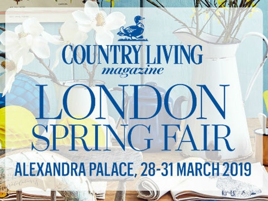TICKETS TO COUNTRY LIVING SPRING FAIR 2019 sweepstakes