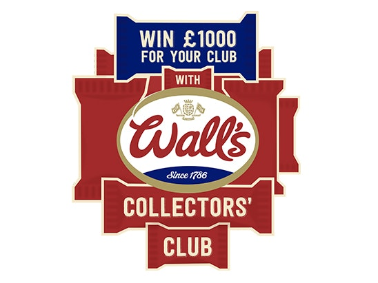 prizes to mark the launch of the Wall's Collector's Club! sweepstakes