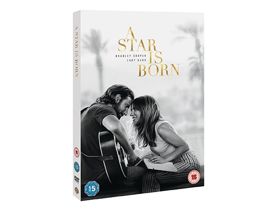 A STAR IS BORN ON DVD  sweepstakes