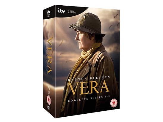 Vera Complete Series 1-9 DVD Box Set sweepstakes