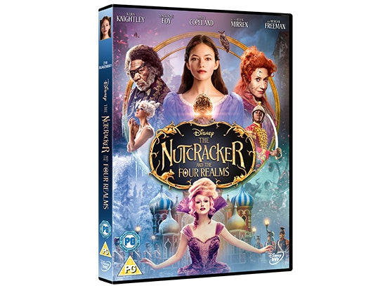 NUTCRACKER AND THE FOUR REALMS on DVD sweepstakes