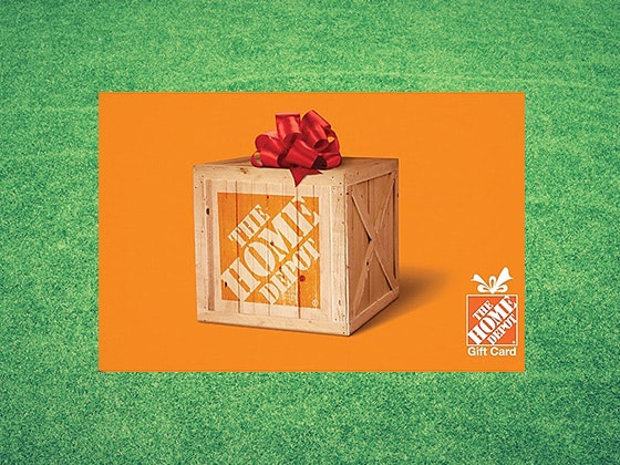 $500 Home Depot Gift Card sweepstakes