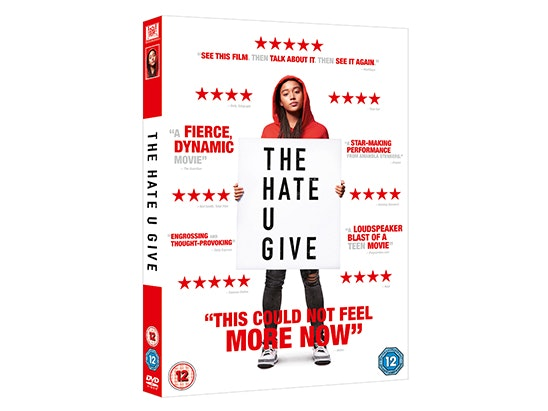 The Hate U Give novel & DVD  sweepstakes