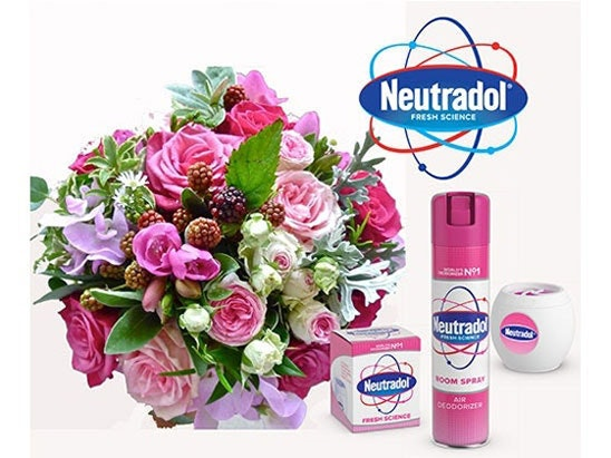 WIN 6 MONTHS OF FRESH FLOWERS, THANKS TO NEUTRADOL sweepstakes