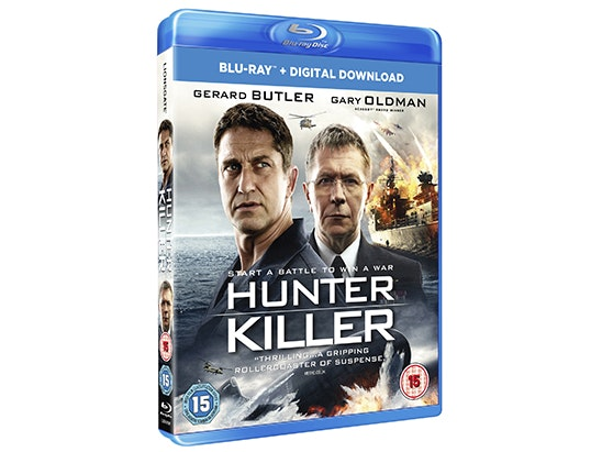 Hunter Killer on Blu-ray sweepstakes