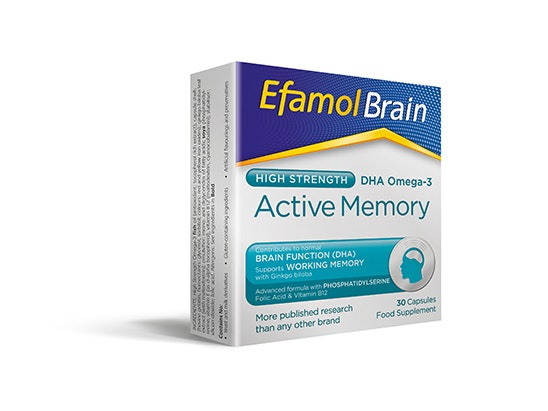 Efamol Brain Active Memory sweepstakes