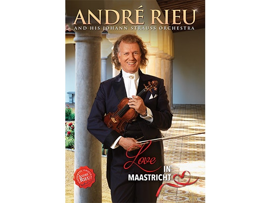 ANDRÉ RIEU'S BRAND NEW DVD 'LOVE IN MAASTRICHT' sweepstakes