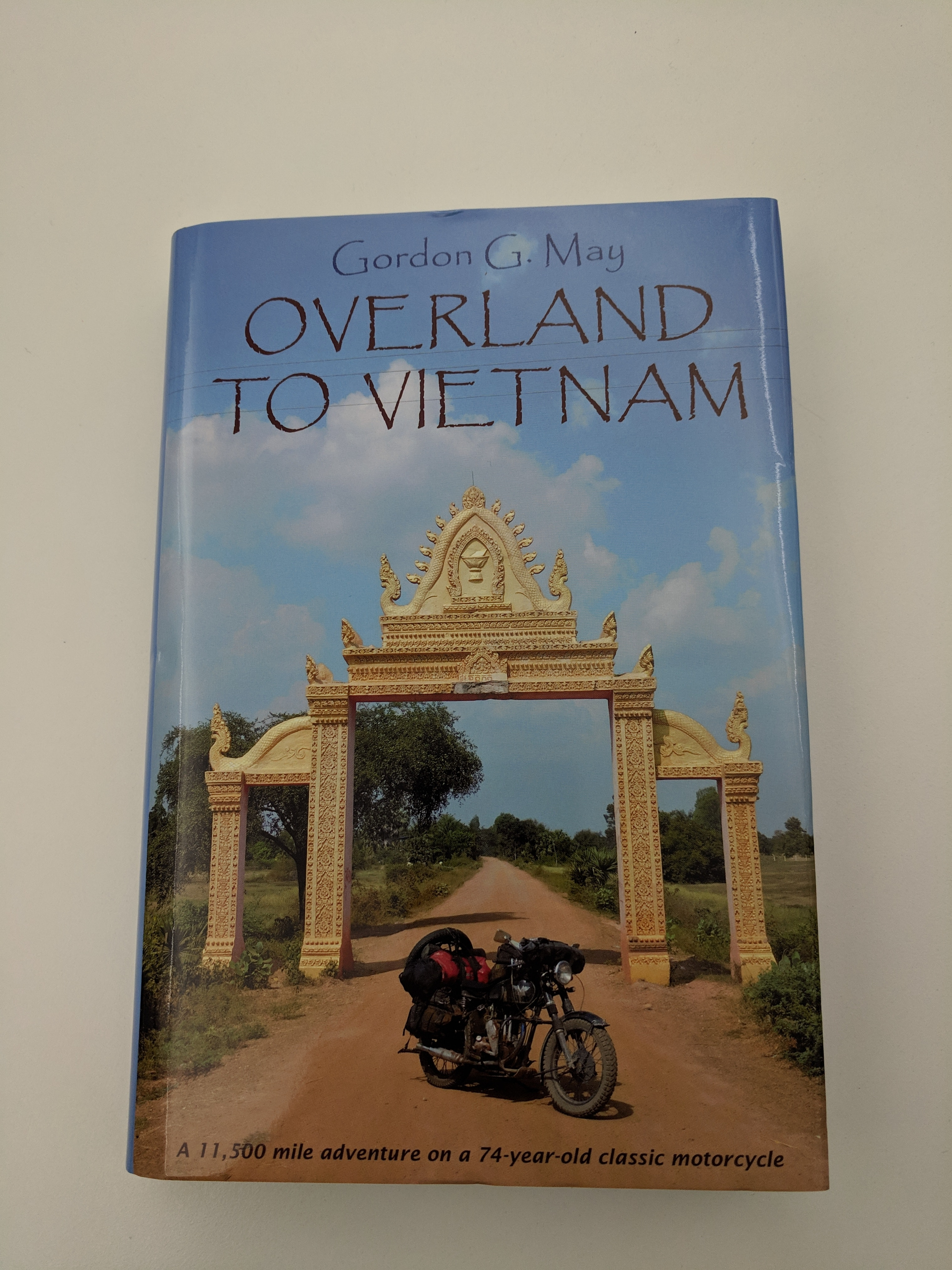 Overland To Vietman hardback book sweepstakes