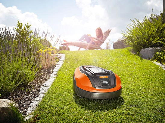 WIN A FLYMO 1200 R ROBOTIC LAWNMOWER sweepstakes