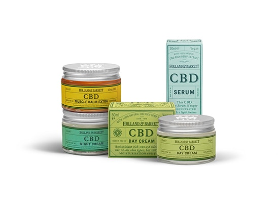 CBD skincare set from Holland & Barrett  sweepstakes