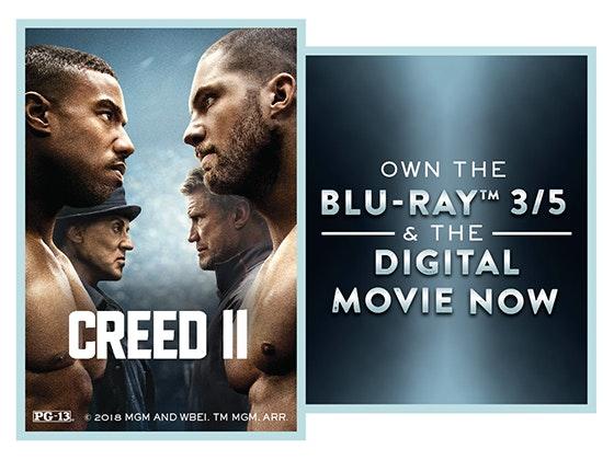 Creed II on Blu-ray  sweepstakes