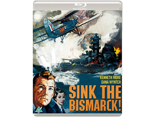 Blu-ray copy of SINK THE BISMARCK! sweepstakes