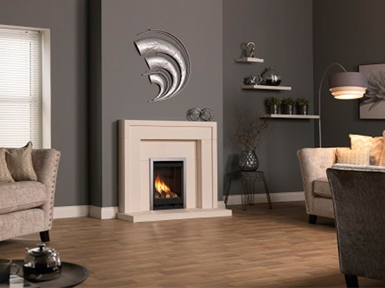 GAS FIRE WORTH £1,300 sweepstakes