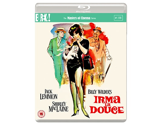 Blu-ray copy of IRMA LA DOUCE sweepstakes