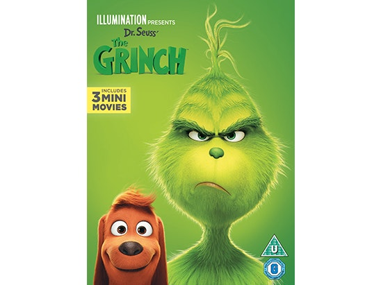 The Grinch on DVD, a Film Novelisation, Colouring and sticker  sweepstakes