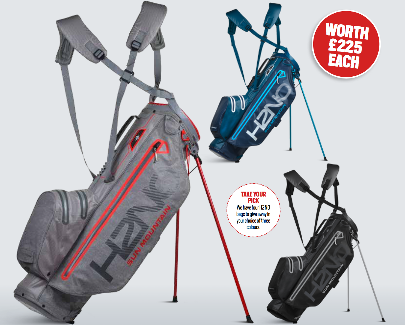 Win A Sun Mountain stand bag sweepstakes
