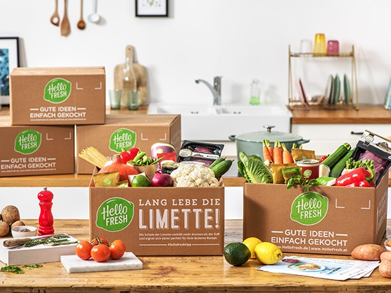 HelloFresh Kochboxen gewinnen! Gewinnspiel