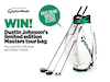 WIN Dustin Johnson's limited edition Masters tour bag + MORE sweepstakes