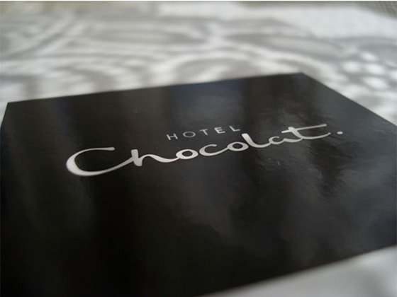 Hotel Chocolat Everything Luxe box  sweepstakes