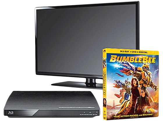 Bumblebee Prize Package: Flatscreen TV & Blu-ray Player sweepstakes