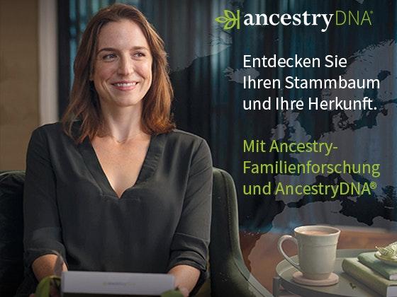 AncestryDNA-Tests zu gewinnen Gewinnspiel