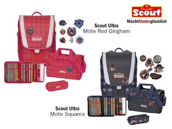 Der neue Scout Ultra Schulranzen  Gewinnspiel