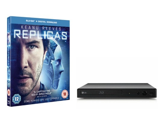 BLU-RAY PLAYER AND A COPY OF REPLICAS sweepstakes