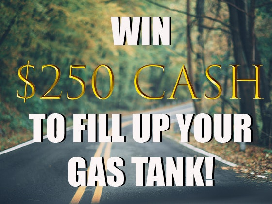 $250 Cash Prize April - May 2019 sweepstakes