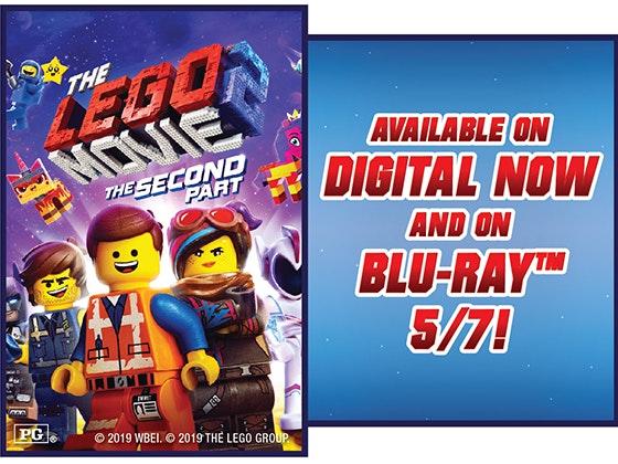 The LEGO® Movie 2 sweepstakes