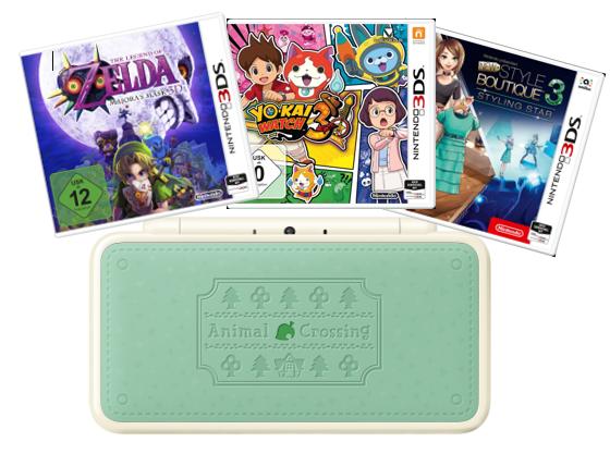 Nintendo Paket zu gewinnen Gewinnspiel