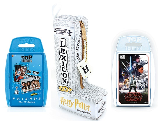 Top Trumps and Lexicon-Go! games bundle! sweepstakes