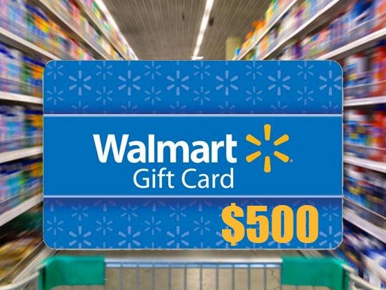 2019 $500 Walmart Gift Card sweepstakes