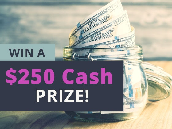 $250 Cash Prize May 2019 sweepstakes