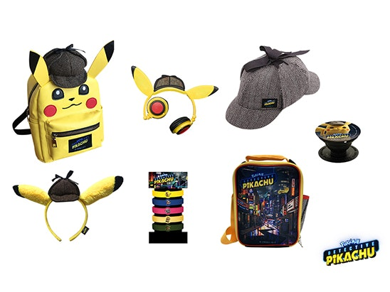 large Pokémon Detective Pikachu bundle sweepstakes