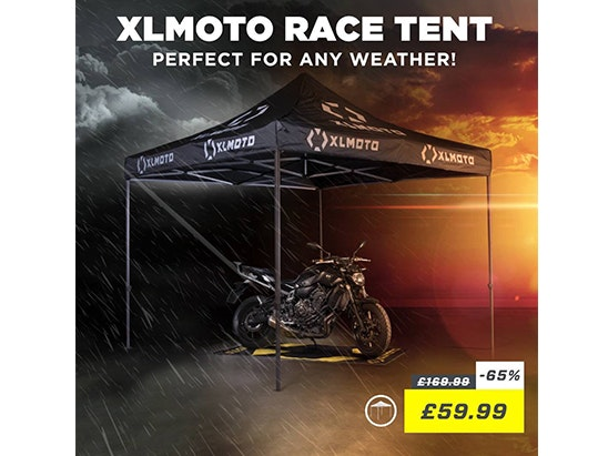 XLMOTO pop up tent  sweepstakes