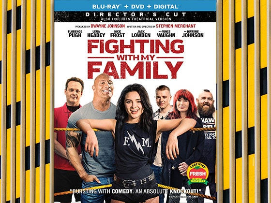 Fighting With My Family DVD sweepstakes