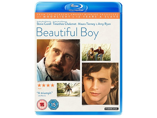 BEAUTIFUL BOY ON BLU-RAY sweepstakes