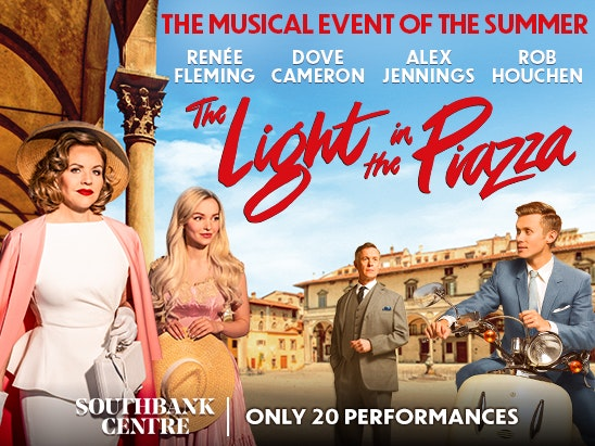 A PAIR OF TICKETS TO THE LIGHT IN THE PIAZZA sweepstakes