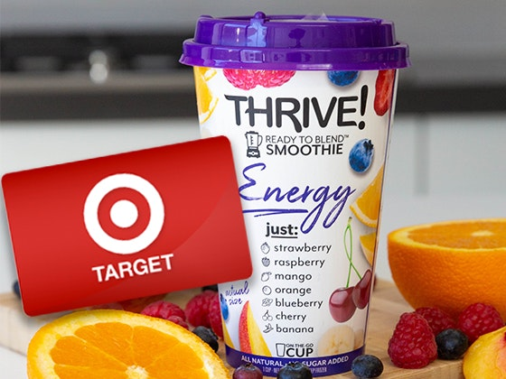 Thrive Smoothie Cups sweepstakes
